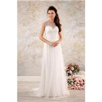 Style 8555 by Alfred Angelo Modern Vintage Bridal Collection - A-line Sleeveless Net Sweetheart Chap
