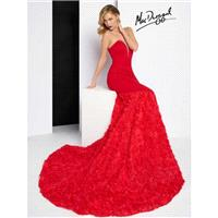 Black Black White Red by Mac Duggal 65219R - Brand Wedding Store Online