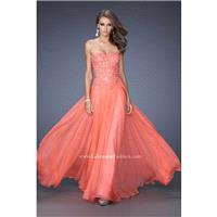 Hot Coral La Femme 20108 La Femme Prom - Rich Your Wedding Day