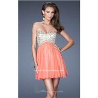 Beaded Sweetheart Dress by La Femme 19452 - Bonny Evening Dresses Online