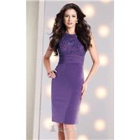 Beaded Haltered Jersey Dress by Social Occasions by Mon Cheri 213889 - Bonny Evening Dresses Online
