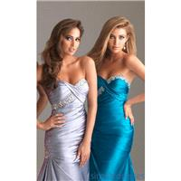 Fashion 2014 Mermaid Beaded Strapless Open Back Royal Blue Evening/celebrity/pageant Dress By Night