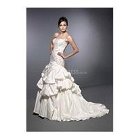 Luxurious Floor Length A line Sweetheart Taffeta Bridal Gowns With Beaded Embroidery - Compelling We