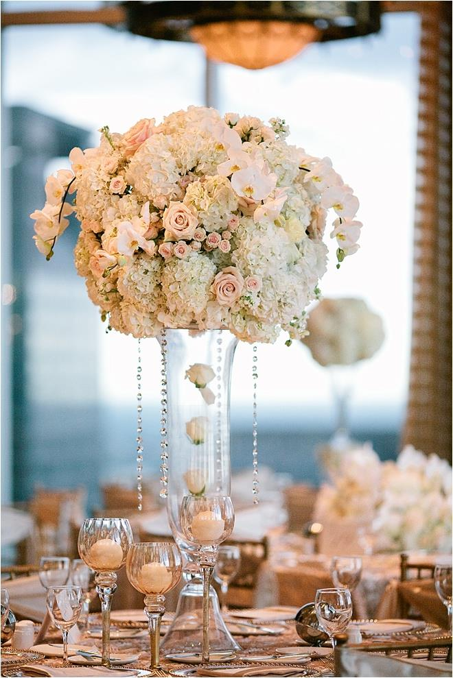 Tables and Floral Arrangements