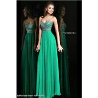 Emerald Sherri Hill 8546 - Brand Wedding Store Online