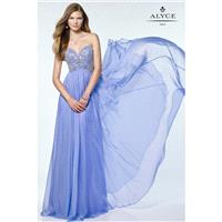 Blue Alyce Prom 6682-17 Alyce Paris Prom - Top Design Dress Online Shop