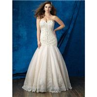 Champagne/Ivory/Silver Allure Bridal Women Size Colleciton W387 Allure Women's Bridal Collection - R