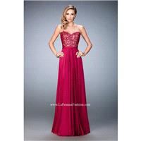 Cranberry La Femme 21820 La Femme Prom - Rich Your Wedding Day