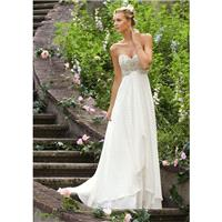 2017 Beautiful Sweetheart with Crystal A-line Chiffon Wedding Dress In Canada Wedding Dress Prices -