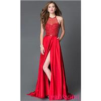 Sherri Hill Multi-Strap Back Prom Dress with Pockets - Discount Evening Dresses |Shop Designers Prom