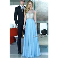 Alyce Prom 6436 Baby Blue,Raspberry,Black,Blush Dress - The Unique Prom Store