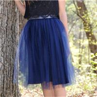 Navy Blue,Adult TULLE SKIRT, Blush tulle skirt,Adult tulle skirt, tutu,very soft. - Hand-made Beauti