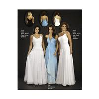 WOW! Prom and Pageant 1010-Left Black,Royal,Turquoise,White Dress - The Unique Prom Store