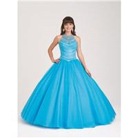 Allure Quineanera Q503 Turquoise,Fuchsia,Champagne,White,Ivory Dress - The Unique Prom Store