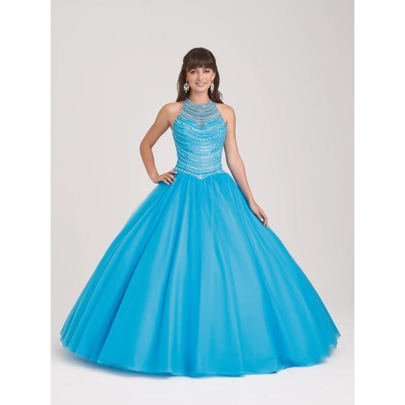 wedding, Allure Quineanera Q503 Turquoise,Fuchsia,Champagne,White,Ivory Dress - The Unique Prom Stor