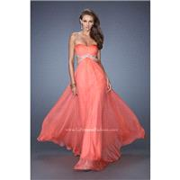 Hot Coral La Femme 19382 La Femme Prom - Rich Your Wedding Day