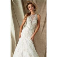 Diamante Embellished Gown by Angelina Faccenda by Mori Lee - Color Your Classy Wardrobe
