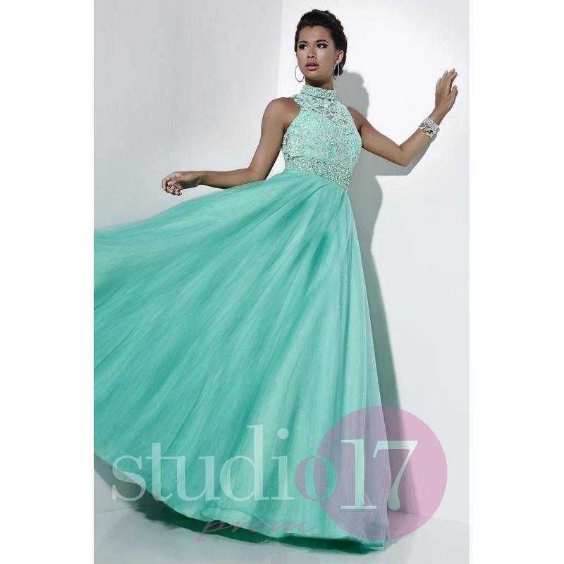 My Stuff, Studio 17 12530 Suzie Mint,Pink,White Dress - The Unique Prom Store