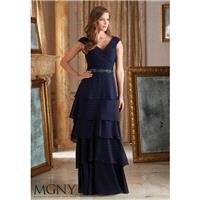 Navy MGNY Madeline Gardner New York 71420 MGNY by Mori Lee - Top Design Dress Online Shop
