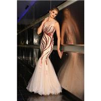 Zoey Grey 30703 Nude/Red,Nude/Royal,Nude/Purple Dress - The Unique Prom Store