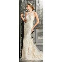 Morilee by Madeline Gardner 8173 Fall/Winter 2017 Mimi Wedding Dress Illusion Sweet Fall Embroidery