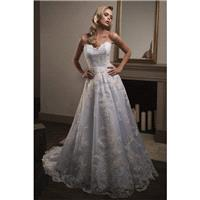 Style T192006 by Jasmine Couture - Ivory  White  Champagne  Other Lace  Tulle Floor Sweetheart  Stra