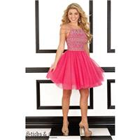 Hot Pink Sticks and Stones 9425 - Customize Your Prom Dress