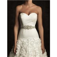 Allure S33 Beaded Bridal Belt with Organza Ties - Crazy Sale Bridal Dresses|Special Wedding Dresses|
