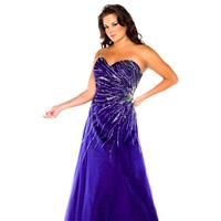 Long Sweetheart Gown by Fabulous by Mac Duggal 76495F - Bonny Evening Dresses Online