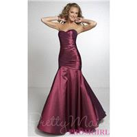 Long Strapless Bridesmaid Gown - Brand Prom Dresses|Beaded Evening Dresses|Unique Dresses For You