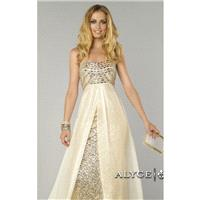 Strapless Sequined Dresses by Alyce Prom 6440 - Bonny Evening Dresses Online