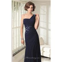 Embellished Asymmetrical Gown by Mori Lee VM 70911 - Bonny Evening Dresses Online