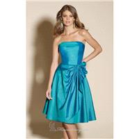 Strapless Taffeta Dress of Affairs by Mori Lee 175 - Bonny Evening Dresses Online