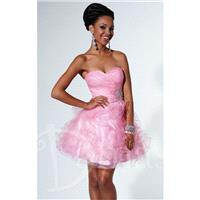 Strapless Tulle Cocktail Dress by Damas 52329 - Bonny Evening Dresses Online