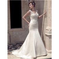 Casablanca Bridal 2141 Wedding Dress - Scoop A Line Long Casablanca Bridal Wedding Dress - 2017 New