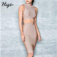 Vogue Sexy Hollow Out Sheath Summer Outfit Skirt Top - Bonny YZOZO Boutique Store