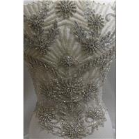 Bridal beaded embroidery - Hand-made Beautiful Dresses|Unique Design Clothing