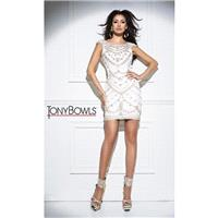 Ivory Tony Bowls Collection TS11639 Tony Bowls Collection - Top Design Dress Online Shop