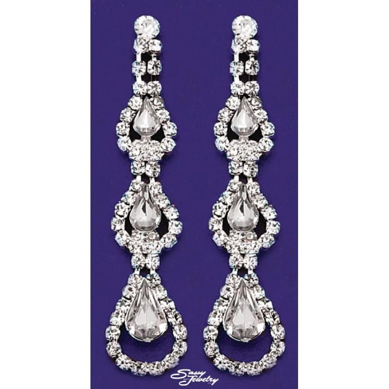 My Stuff, Sassy South Jewelry J1901E1S Sassy South Jewelry - Earings - Rich Your Wedding Day