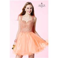 Coral Alyce Paris Homecoming 3648 Alyce Paris Shorts - Top Design Dress Online Shop
