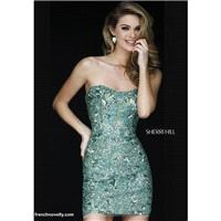 Sherri Hill 1953 Beaded Cocktail Dress - Brand Prom Dresses|Beaded Evening Dresses|Charming Party Dr