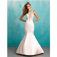 Allure Bridals 9312 Beaded Fit and Flare Wedding Dress - Crazy Sale Bridal Dresses|Special Wedding D