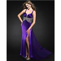 Landa Cire PE286WT Iris,Ember,Fuschia,Emerald Dress - The Unique Prom Store