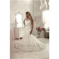 Eternity Bride Plus-Size Dresses Style 29269 by Love by Christina Wu - Ivory  White Lace Wedding Dre