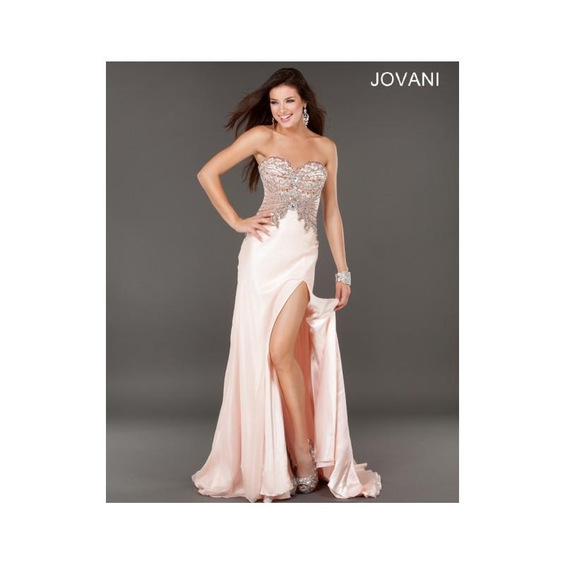 My Stuff, Classical Affordable Cheap New Style Jovani Prom Dresses  1932 Blush New Arrival - Bonny E