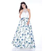 Charcoal/Multi Mon Cheri MCE21638 - Ball Gowns Dress - Customize Your Prom Dress