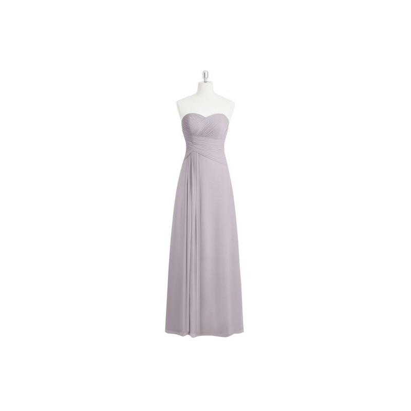 My Stuff, Dusk Azazie Magnolia - Sweetheart Chiffon Floor Length Back Zip Dress - Charming Bridesmai