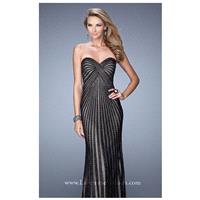 Beaded Jersey Gown by La Femme 21308 - Bonny Evening Dresses Online