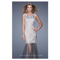 Embellished Tulle Gown by La Femme 21100 - Bonny Evening Dresses Online