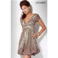 Classical Cheap Sequin Cocktail Dress by Jovani Prom 158706 Dress New Arrival - Bonny Evening Dresse